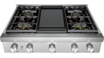 "36"" Thermador Professional Series Rangetop - PCG364WD"