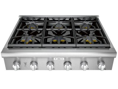 "36"" Thermador Professional Series Rangetop - PCG366W"