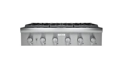"36"" Thermador Professional Series Rangetop - PCG366W"