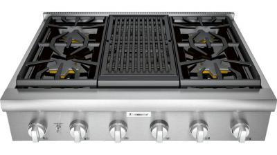 "36"" Thermador Professional Series Rangetop - PCG364WL"