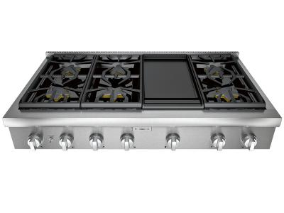 "48"" Thermador Professional Series Rangetop - PCG486WD"