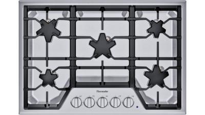 """30"""" Thermador 5 Burner Gas Cooktop - SGSX305TS"""