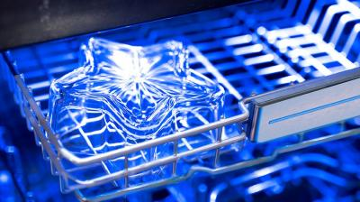 """24"""" Thermador Professional Stainless Steel Star Sapphire Dishwasher - DWHD870WFP"""