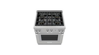 """30"""" Thermador Professional Series Pro Harmony Standard Depth All Gas Range - PRG304WH"""