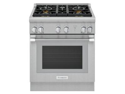 "30"" Thermador Professional Series Pro Harmony Standard Depth All Gas Range - PRG304WH"