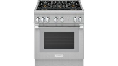 "30"" Thermador Professional Series Pro Harmony Standard Depth All Gas Range - PRG305WH"