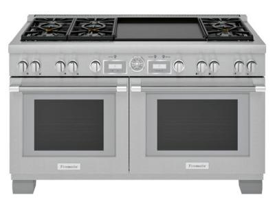 "60"" Thermador  Pro Grand  Commercial Depth Dual Fuel Range - PRD606WEG"