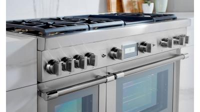 """60"""" Thermador Professional Series Pro Grand Commercial Depth Dual Fuel Range - PRD606WCG"""