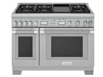 "48"" Thermador Professional Series Pro Grand Commercial Depth All Gas Range - PRG486WDG"