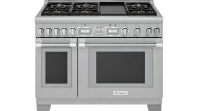 """48"""" Thermador Professional Series Pro Grand Commercial Depth All Gas Range - PRG486WDG"""