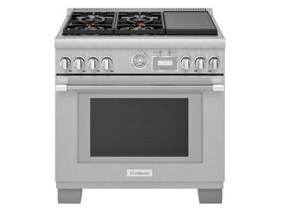 "36"" Thermador Pro-Grand Freestanding Dual-Fuel Range - PRD364WIGC"