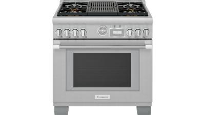 "36"" Thermador Professional Series Pro Grand Commercial Depth All Gas Range - PRG364WLG"