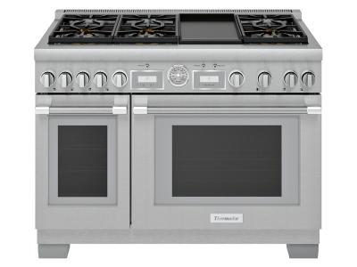 "48"" Thermador  Pro-Grand Freestanding Dual-Fuel Range - PRD486WDGC"
