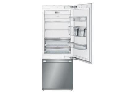 "30"" Thermador  Built in 2 Door Bottom Freezer Refrigerator - T30IB900SP"