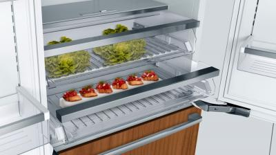 "36"" Bosch Benchmark Built-in French Door Refrigerator with Home Connect - B36IT900NP"