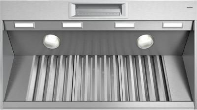 "48"" Thermador Professional Series Pro Grand Wall Hood, Optional Blower - PH48GWS"