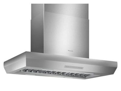 "42"" Thermador Professional Island Hood, Optional Blower - HPIN42WS"
