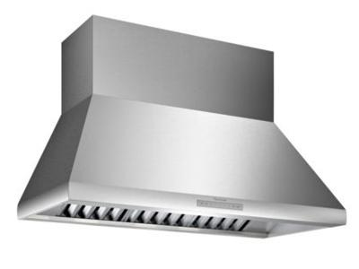 "48"" Thermador Professional Chimney Wall Hood, Optional Blower - HPCN48WS"