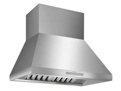 "36"" Thermador  Professional Chimney Wall Hood, Optional Blower - HPCN36WS"